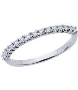 More about 0.25 Carat Round Brilliant Diamond Band 18Kt White Gold