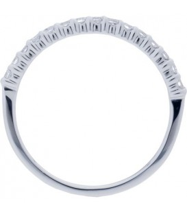 0.25 Carat Round Brilliant Diamond Band 18Kt White Gold