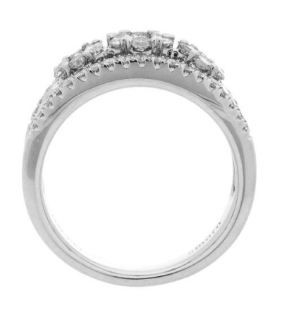 1 Carat Round Brilliant Diamond Ring 14Kt White Gold