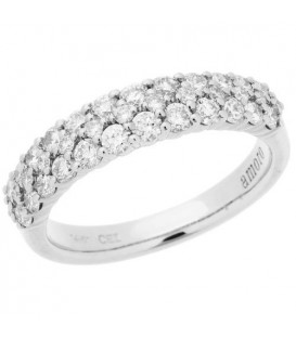 More about 0.99 Carat Round Brilliant Diamond Ring 14Kt White Gold