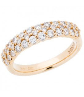 More about 0.98 Carat Round Brilliant Diamond Ring 14Kt Yellow Gold