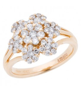 More about 1.02 Carat Round Brilliant Diamond Ring 14Kt Yellow Gold