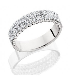 More about 1.53 Carat Round Brilliant Diamond Eternity Ring 18Kt White Gold