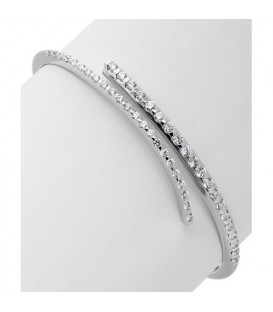 1.63 Carat Diamond Bangle 18Kt White Gold
