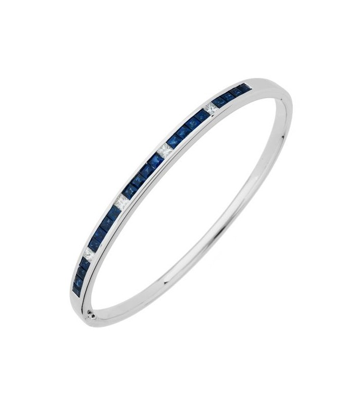 bangle bracelet blue sapphire youtube bangles diamond watch majestic