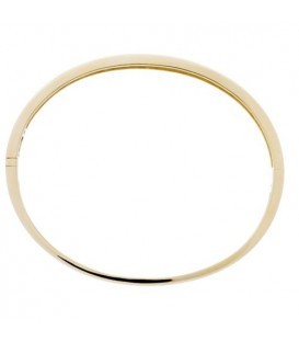 0.50 Carat Round Cut Diamond Bangle in 18Kt Yellow Gold