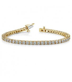 More about 2.00 Carat Diamond Tennis Bracelet 18Kt Yellow Gold