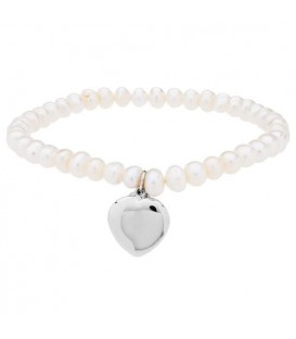 More about 5mm Cultured Freshwater Pearl Charm Bracelet 925 Sterling Silver