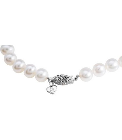 9-10mm Cultured Freshwater Pearl Bracelet 14Kt White Gold Clasp