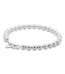More about Italian Large Bead Bracelet 925 Sterling Silver