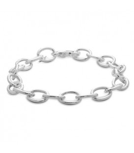 More about Italian Charm Bracelet 925 Sterling Silver