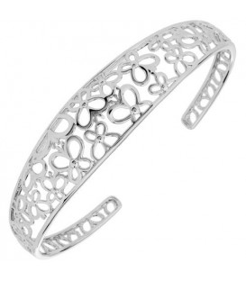 More about Butterfly Bangle Bracelet 925 Sterling Silver