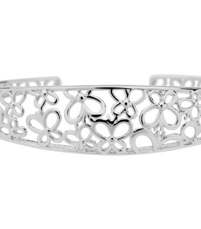 Butterfly Bangle Bracelet 925 Sterling Silver