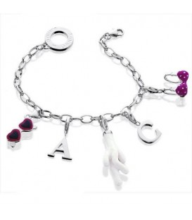 Customize Your Own Story Clip-on Charm Bracelet 925 Sterling Silver