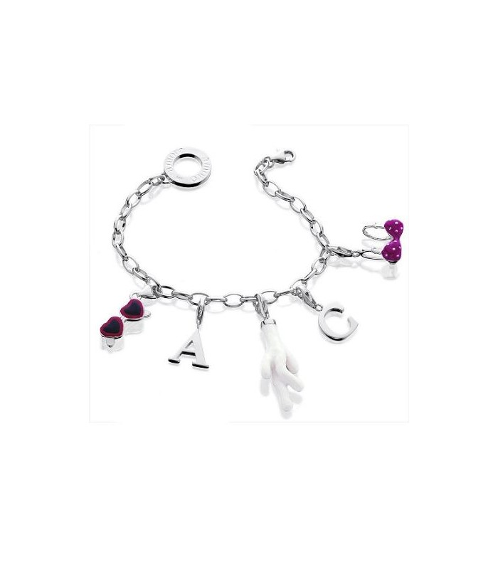 Customize Your Own Clip On Charm Bracelet 925 Silver Amoro
