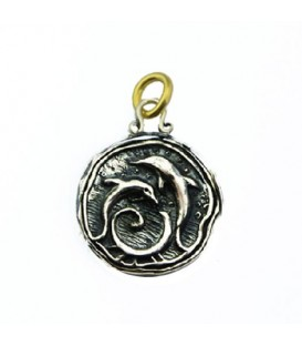 Sandals Grande Antigua Resort Dolphin Pendant 925 Sterling Silver