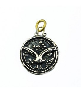 Pendants - Sandals Bahamas Emerald Bay Resort Seagull Pendant 925 Sterling Silver