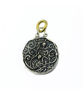 Sandals Barbados Resort Green Monkey Pendant 925 Sterling Silver