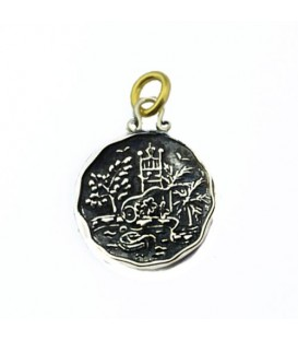 Pendants - Beaches Jamaica Negril Resort Waterslide Pendant 925 Sterling Silver