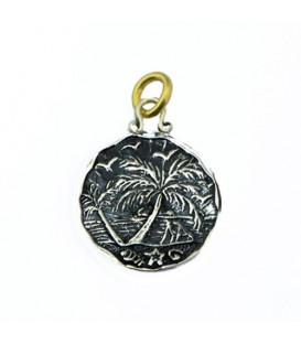 Sandals Jamaica Negril Resort Sunset Pendant 925 Sterling Silver