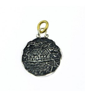 Pendants - Sandals St. Lucia Halcyon Resort Pier Restaurant Pendant 925 Sterling Silver