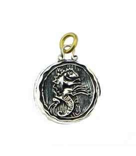 Beaches Turks and Caicos Resort Iguana Pendant 925 Sterling Silver