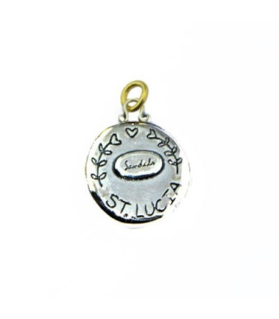 Sandals St. Lucia Island Les Pitons Pendant 925 Sterling Silver