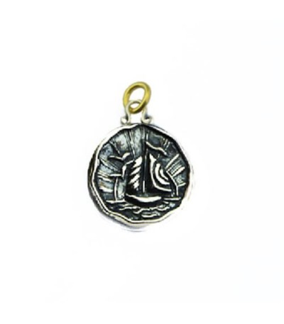Pendants - Sandals Antigua Island Yacht Pendant 925 Sterling Silver