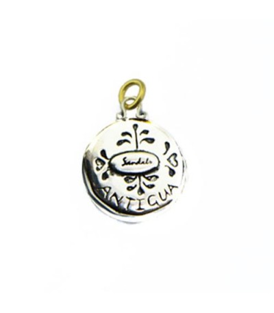 Sandals Antigua Island Yacht Pendant 925 Sterling Silver