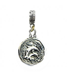 More about Beaches Turks & Caicos Island Dolphin Bead Charm Sterling Silver