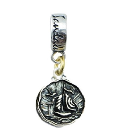 Pendants - Sandals Antigua Island Yacht Bead Charm Sterling Silver