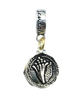 Pendants - Sandals Bahamas Island Conch Bead Charm Sterling Silver