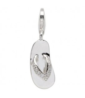 Grenada Clip On Charm 925 Sterling Silver