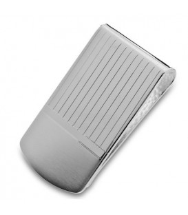 Sterling Silver Etched Money Clip
