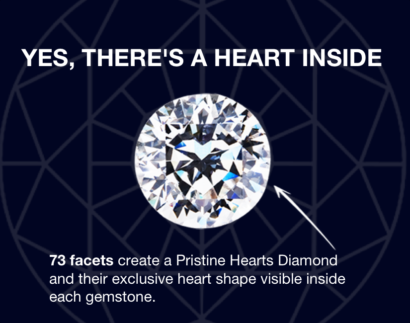 The only Diamond with an Heart Inside