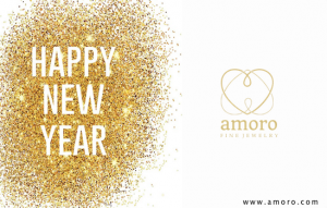 Gift Card Amoro Happy New Year