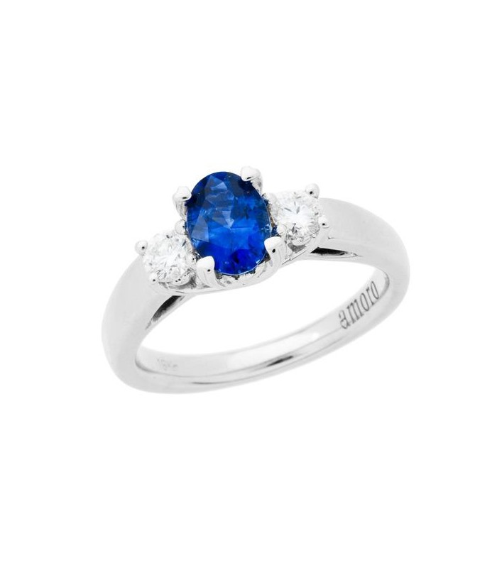 COLOR 3-STONE RING