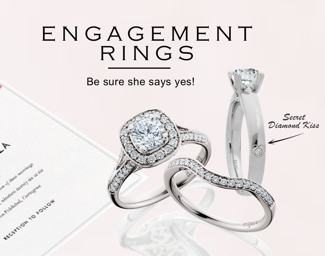 Amoro Engagement Ring Selection
